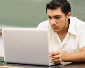 Online Defensive Driving Course Student